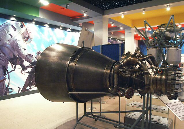 Propulsores espaciales rusos RD-180