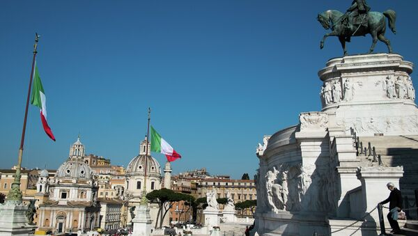 Площадь Венеции (Piazza Venezia) в Риме - Sputnik Mundo