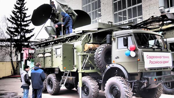 Sistema de guerra electrónica Krasuja 4 - Sputnik Mundo