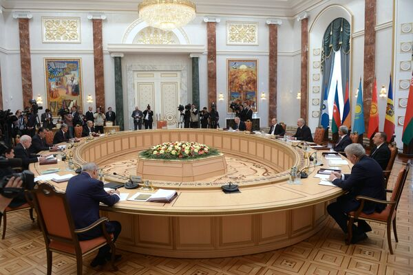 Cumbres de la UEE en Minsk - Sputnik Mundo