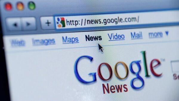España aprueba la 'tasa Google' - Sputnik Mundo