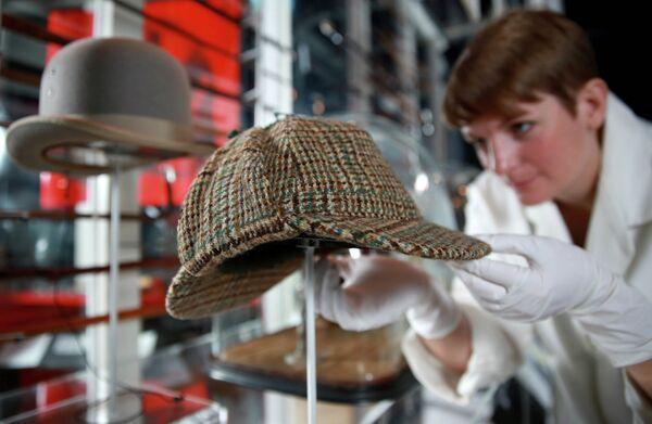 La exposición 'Sherlock Holmes: El hombre que nunca vivió y nunca morirá' en Londres - Sputnik Mundo