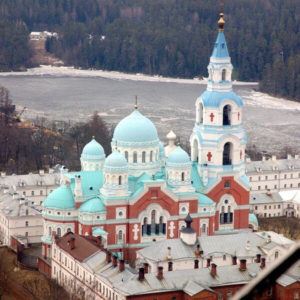 Monasterio de la Santa Transfiguración, situado en las islas de Valaam - Sputnik Mundo