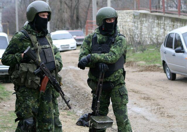 La operación especial antiterrorista (archivo)
