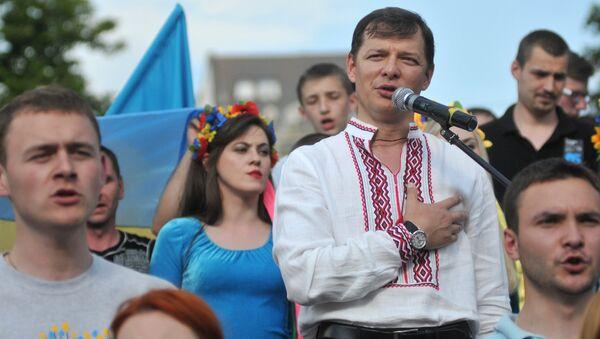 Oleg Liashkó, líder del Partido Radical de Ucrania - Sputnik Mundo