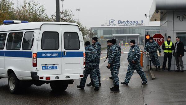 Detienen a cuatro empleados del aeropuerto de Vnúkovo por el siniestro de Falcon 50 - Sputnik Mundo