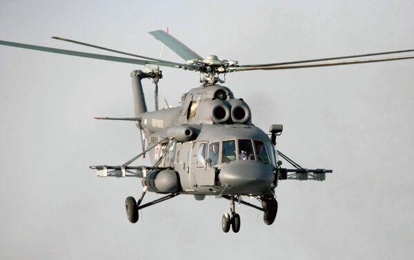 Helicóptero MI-8-AMTSh - Sputnik Mundo