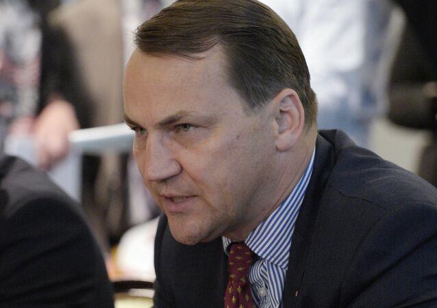 Radoslaw Sikorski, exministro polaco de Relaciones Exteriores