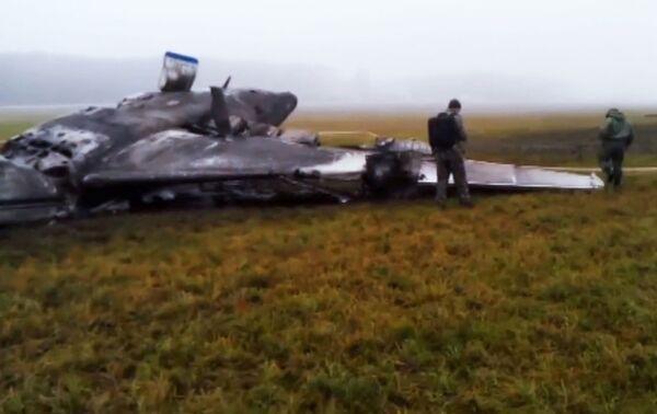 Lugar de la catástrofe del avión Falcon 50 en que viajaba el presidente de Total - Sputnik Mundo