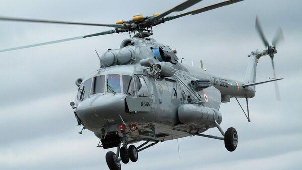 Helicóptero militar de transporte Mi-17V-5 - Sputnik Mundo