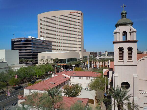 Evacúan a huéspedes de un hotel en Arizona por explosiones - Sputnik Mundo
