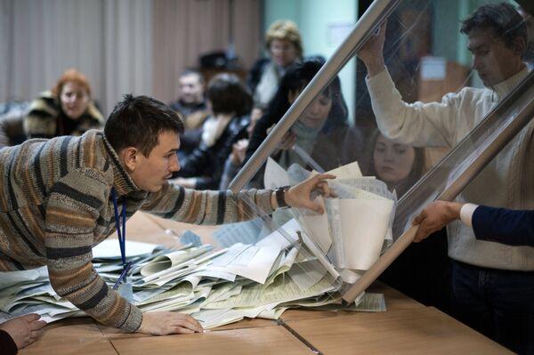 El Ministerio de Interior de Ucrania inicia investigación por falsificación electoral - Sputnik Mundo