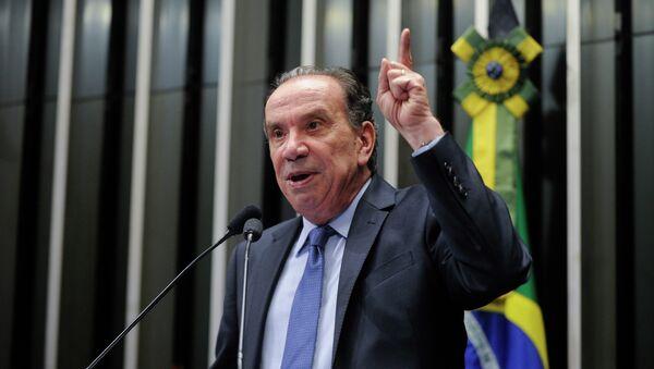 Aloysio Nunes, ministro de Relaciones Exteriores de Brasil - Sputnik Mundo