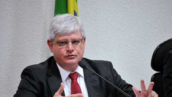 Rodrigo Janot, Fiscal General de la República de Brasil - Sputnik Mundo