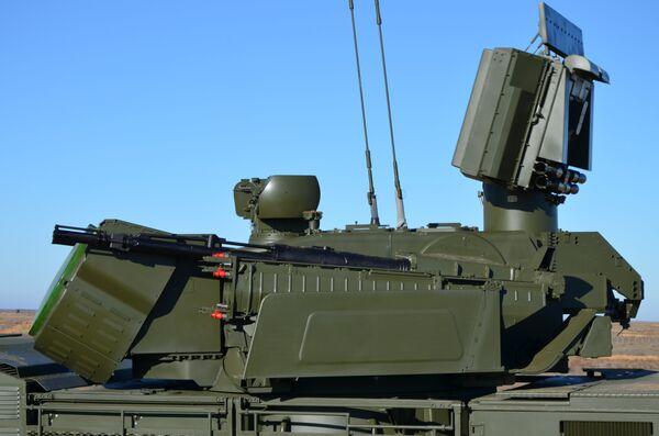 Sistema antiaéreo ruso Pántsir-S - Sputnik Mundo