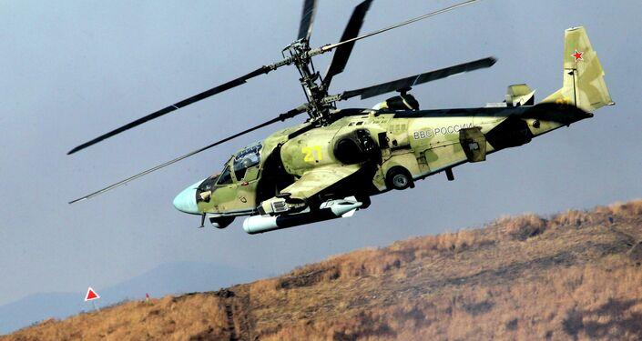 Helicóptero de ataque Ka-52 Alligator