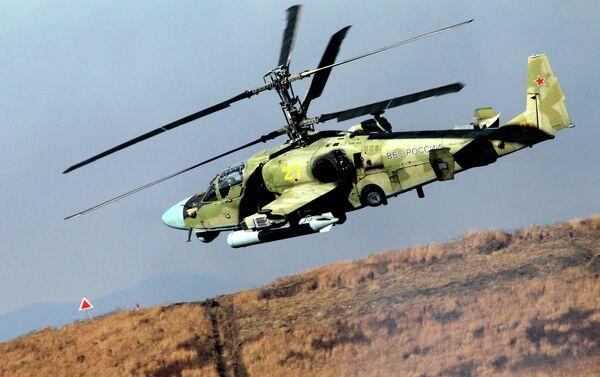 Helicóptero de ataque Ka-52 Alligator - Sputnik Mundo