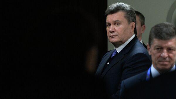 Víctor Yanukóvich, expresidente de Ucrania - Sputnik Mundo