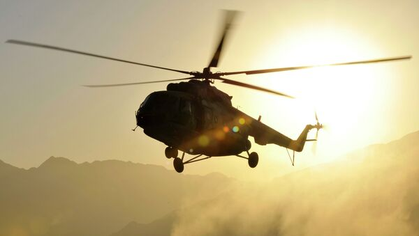 Helicóptero Mi-17 - Sputnik Mundo