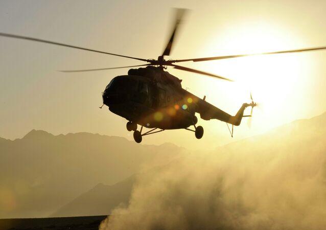 Helicóptero Mi-17 en Afganistán (archivo)