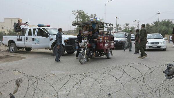Ejército iraquí en la provincia de Ambar - Sputnik Mundo