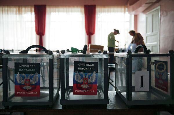 Ucrania ordena la búsqueda de los organizadores de las elecciones en Donbás - Sputnik Mundo