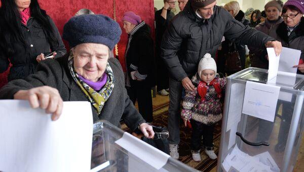 Elecciones en Donetsk (archivo) - Sputnik Mundo
