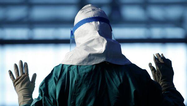 Compañía rusa abre hospital para pacientes de ébola en Guinea - Sputnik Mundo