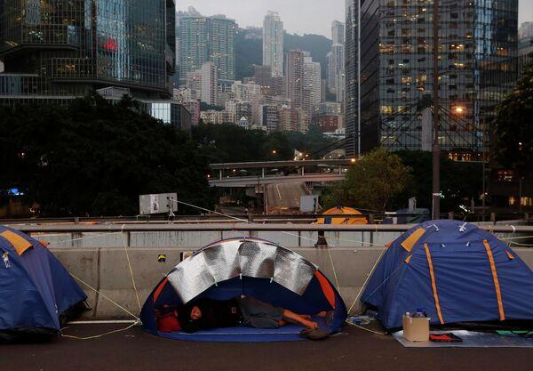 Situación en Hong Kong - Sputnik Mundo