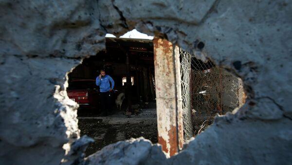 Consecuencias de los bombardeos de Donetsk - Sputnik Mundo