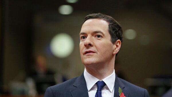 George Osborne, ministro del Tesoro del Reino Unido - Sputnik Mundo