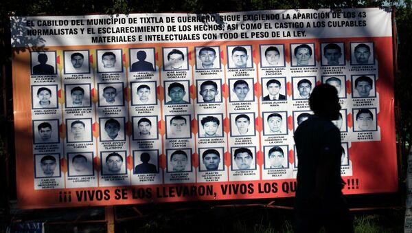 Los 43 estudiantes desaparecidos en México fueron asesinados y quemados - Sputnik Mundo