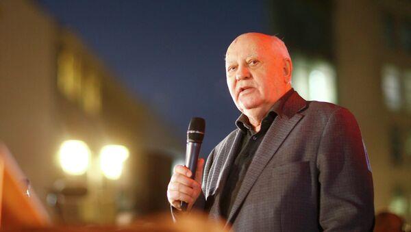 Expresidente de la URSS, Mijaíl Gorbachov - Sputnik Mundo