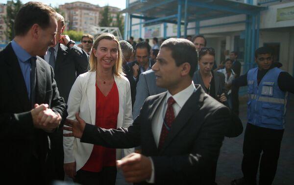 Federica Mogherini, alta representante de la Unión para Asuntos Exteriores y Política de Seguridad - Sputnik Mundo