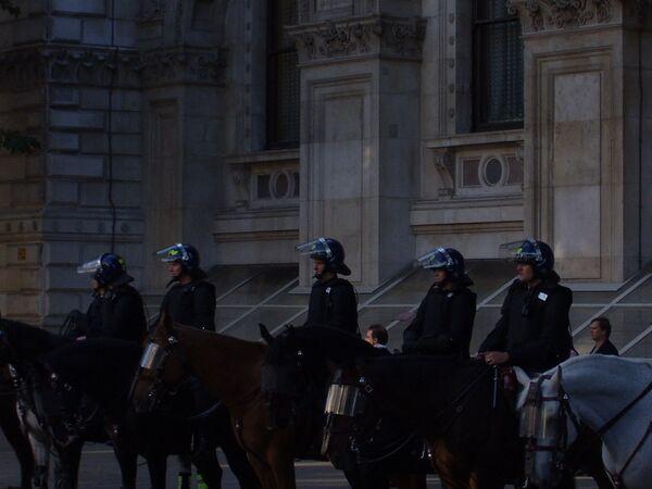 Policía de Londres refuerza medidas de seguridad tras posibles atentados contra la Reina - Sputnik Mundo