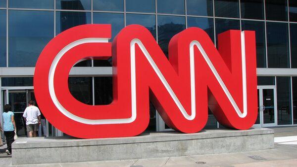 Здание телеканала CNN - Sputnik Mundo