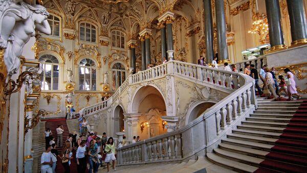The State Hermitage Museum Jordan Stair - Sputnik Mundo