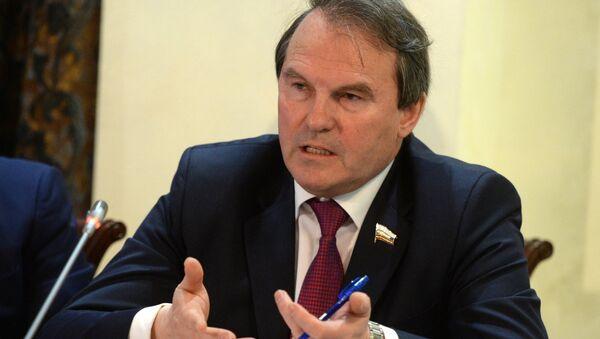 Ígor Morózov, miembro del comité para asuntos internacionales del Consejo de la Federación - Sputnik Mundo