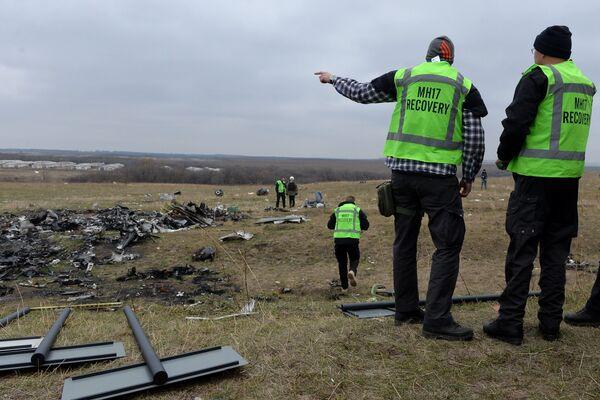 Expertos holandeses en el lugar del desplome del Boeing de Malasia - Sputnik Mundo