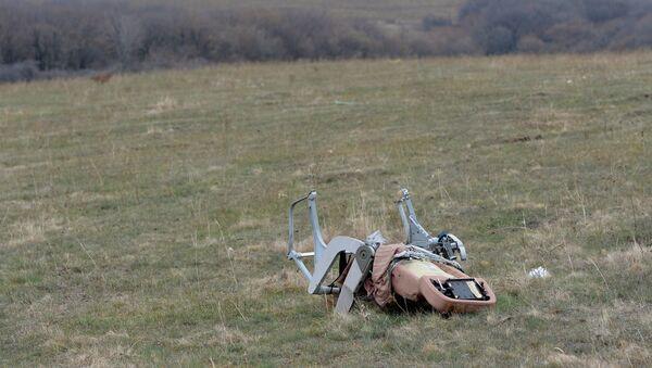 Lugar de la caída del MH17 - Sputnik Mundo
