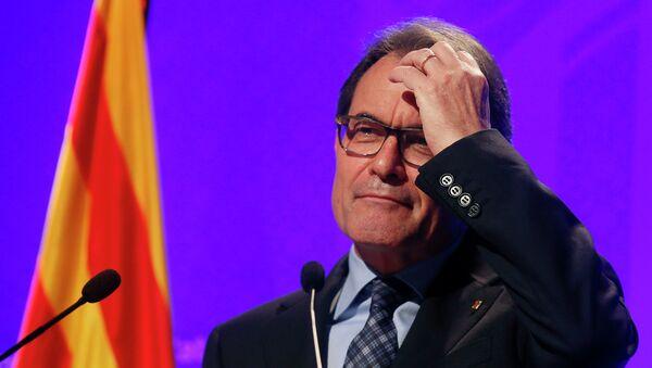 Artur Mas, presidente de la Generalidad de Cataluña - Sputnik Mundo