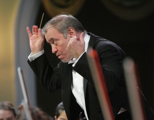 Valeri Guérguiev, director de orquesta del Teatro Mariinski - Sputnik Mundo