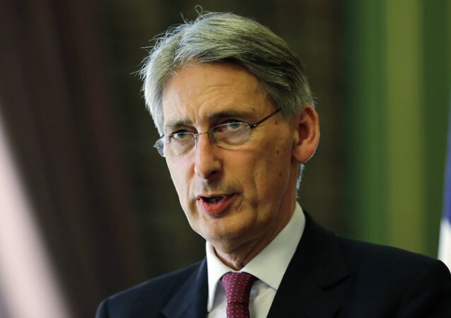 Phillip Hammond, ministro de Asuntos Exteriores del Reino Unido