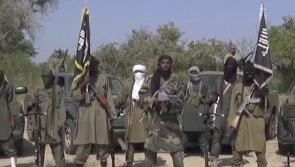 Terroristas del grupo extremista islámico Boko Haram - Sputnik Mundo