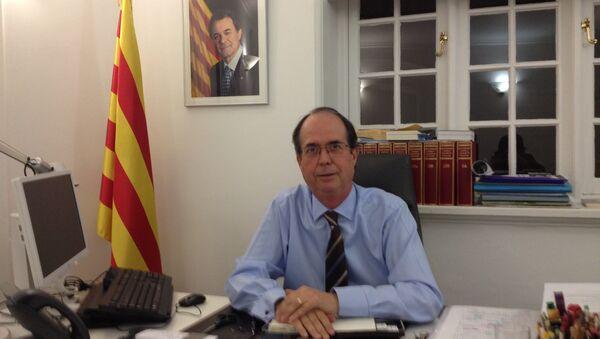 Josep Suàrez, representante del gobierno de Cataluña en Reino Unido e Irlanda - Sputnik Mundo