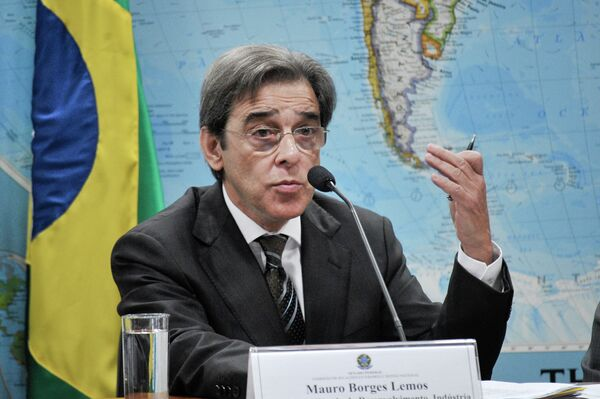 Mauro Borges, ministro de Desarrollo, Industria y Comercio Exterior de Brasil - Sputnik Mundo