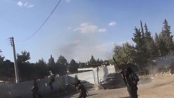 Боевики Исламского государства в городе Кобани, Сирия - Sputnik Mundo