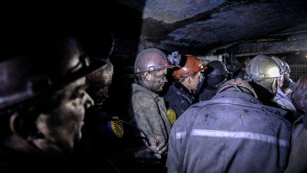 Mineros ucranianos - Sputnik Mundo