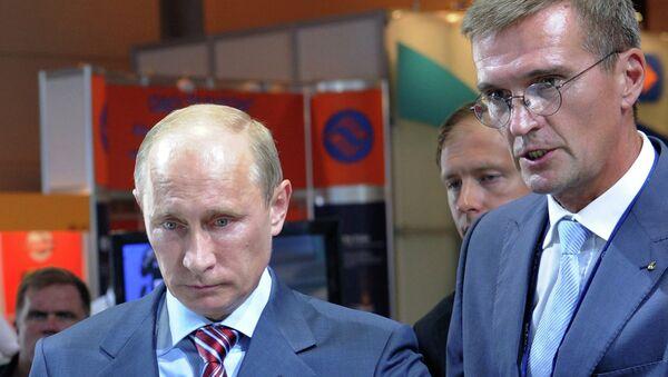 Borís Obnósov, director general de la empresa Armamentos Misilísticos Tácticos - Sputnik Mundo