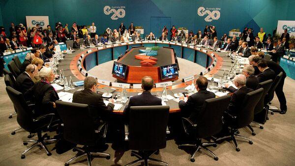 Líderes del G20, decepcionados por la lentitud de las reformas del FMI - Sputnik Mundo